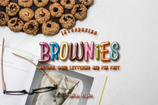 Print on Demand: Brownies Decorative Font By Unflea Studio