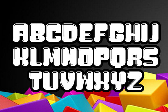 Print on Demand: Bubblicious Display Font By vladimirnikolic - Image 4