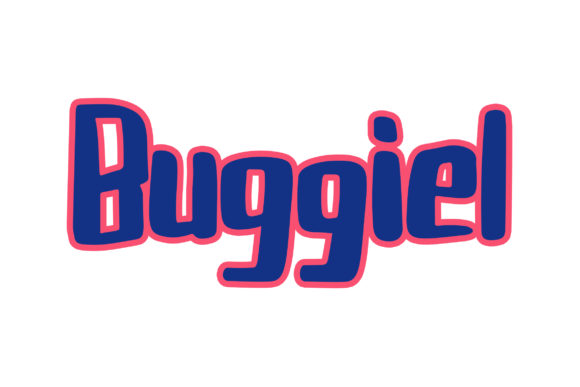 Buggiel Display Font By Weape Design