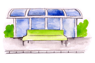 Bus Stop Craft Design By Creative Fabrica Crafts