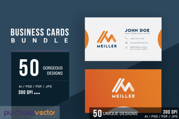 Business Cards Templates Graphic Print Templates By purchasevector
