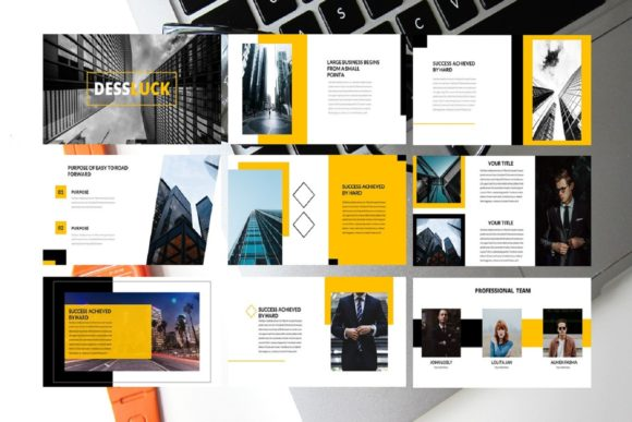 Business Presentation Template Graphic Graphic Templates By renisugiarto21 - Image 2