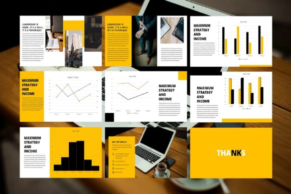 Business Presentation Template Graphic Graphic Templates By renisugiarto21 - Image 4