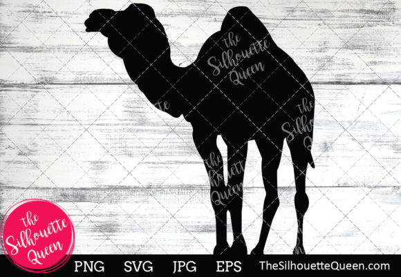 Download Free Camel Silhouette Graphic By Thesilhouettequeenshop Creative for Cricut Explore, Silhouette and other cutting machines.
