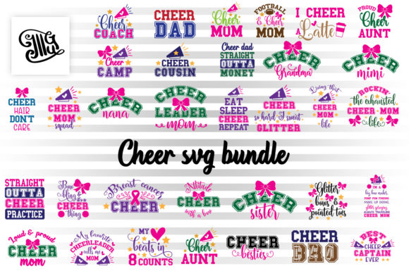 Download Free Cheer Bundle Graphic By Illustrator Guru Creative Fabrica SVG Cut Files