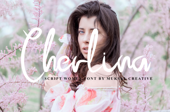 Print on Demand: Cherlina Script & Handwritten Font By Muksal Creative