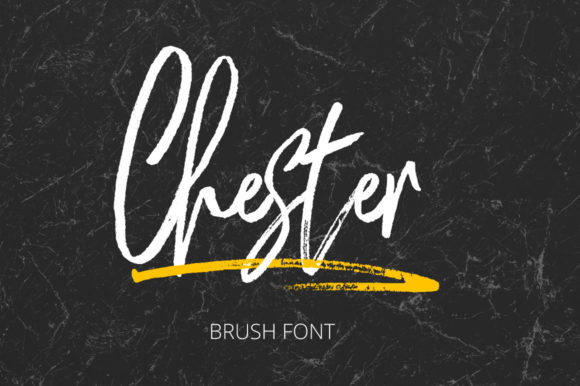 Print on Demand: Chester Script & Handwritten Font By masinong