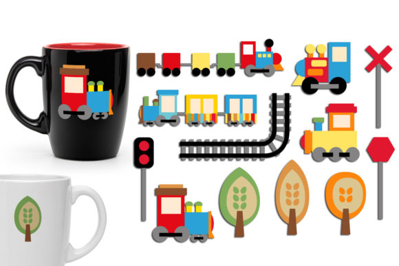 Print on Demand: Chou Chou Trains Graphic Illustrations By Revidevi