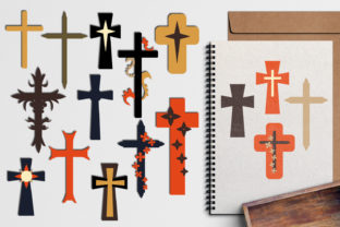Christian Cross Graphic By Revidevi