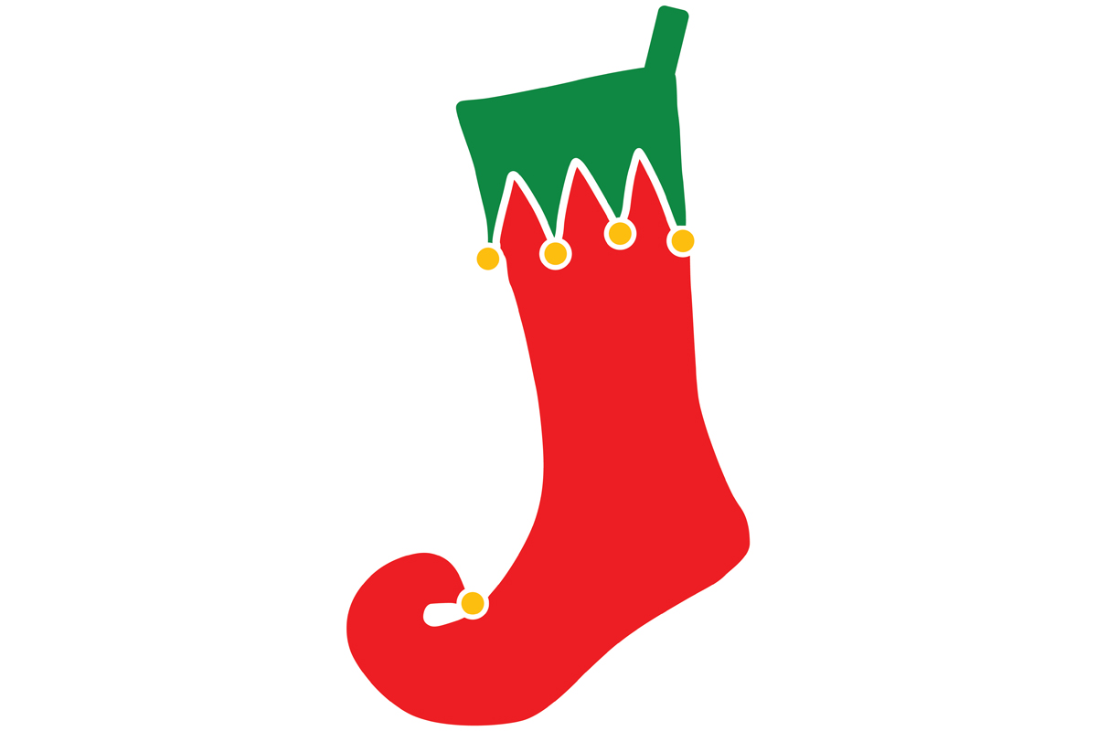 Download Free Christmas Stocking Graphic By Idrawsilhouettes Creative Fabrica for Cricut Explore, Silhouette and other cutting machines.