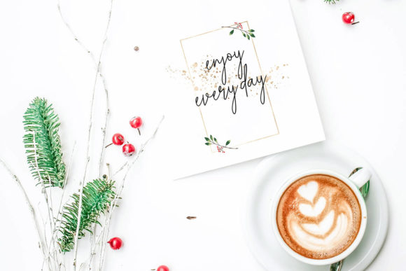 Print on Demand: Christmas Watercolor Cards Collection 03 Graphic Print Templates By 3Motional - Image 8