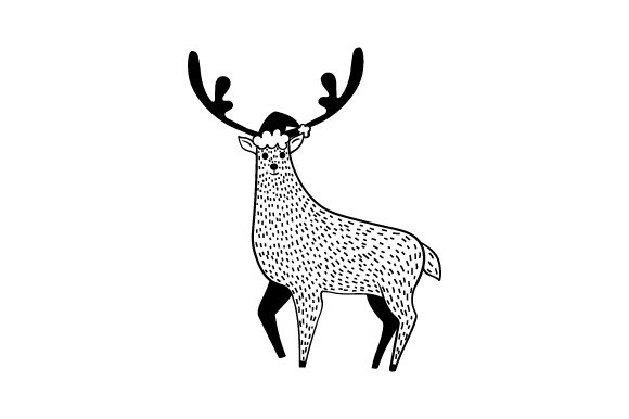 Download Free Christmas Reindeer Svg Cut File By Creative Fabrica Crafts for Cricut Explore, Silhouette and other cutting machines.