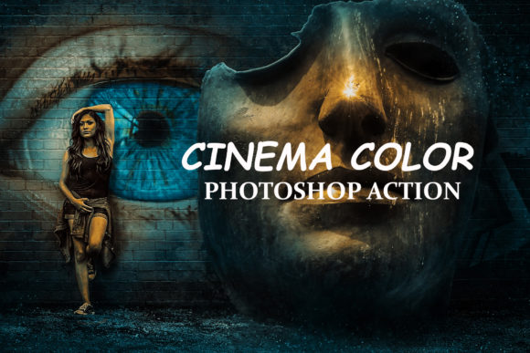Download Free Cinema Color Photoshop Actions Graphic By Itraitart Creative for Cricut Explore, Silhouette and other cutting machines.
