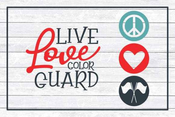 Download Free Color Guard Design Bundle Svg Cut Files Graphic By SVG Cut Files