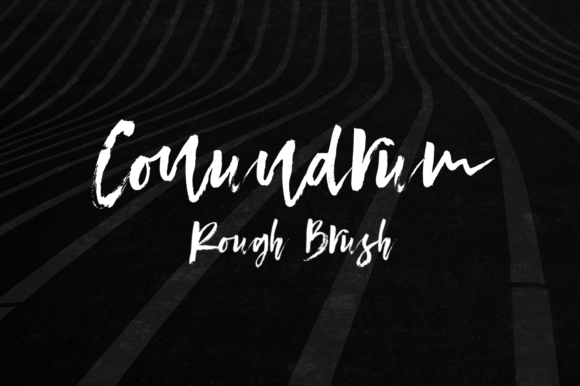 Print on Demand: Conundrum Script & Handwritten Font By Letteratom