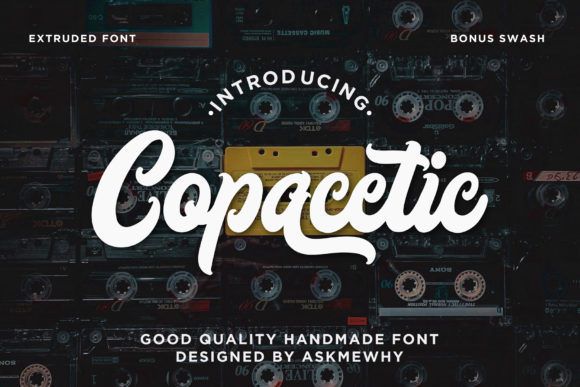 Print on Demand: Copacetic Script & Handwritten Font By Askmewhy