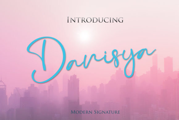 Print on Demand: Danisya Script & Handwritten Font By Muhammad Ersya