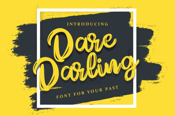 Print on Demand: Dare Daling Script & Handwritten Font By Vunira