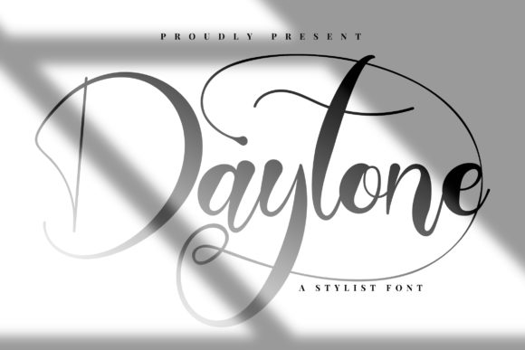 Print on Demand: Daytone Script & Handwritten Font By Vunira