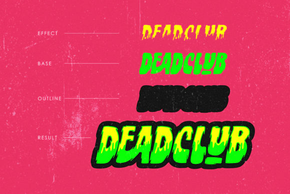Deadclub Family Font By 160 Studio Image 3