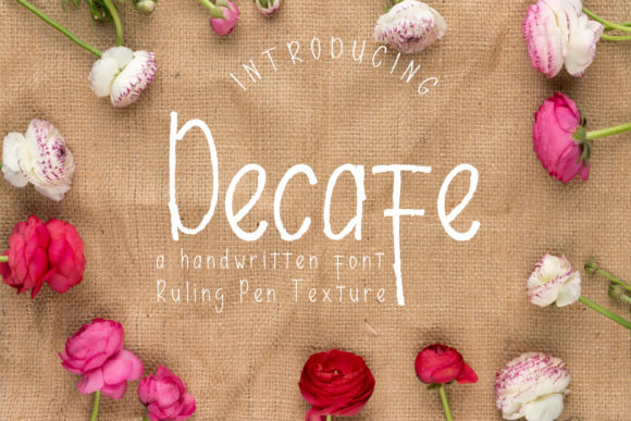 Print on Demand: Decafe Script & Handwritten Font By Arendxstudio