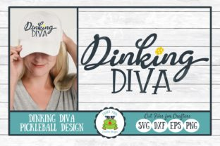 Dinking Diva Graphic By funkyfrogcreativedesigns