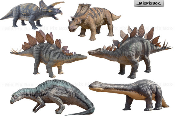 Print on Demand: Dinosaurs Photo Overlays Pack Graphic Layer Styles By MixPixBox - Image 5
