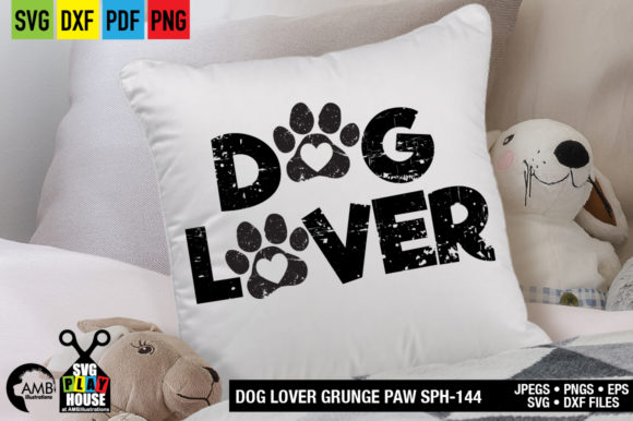 Download Free Dog Paw Graphic By Ambillustrations Creative Fabrica for Cricut Explore, Silhouette and other cutting machines.