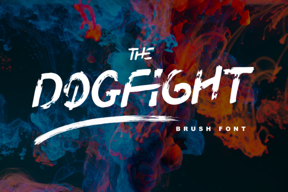 Print on Demand: Dogfight Display Font By Tigade std