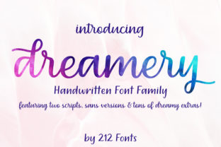 Dreamery Family Font By 212 Fonts