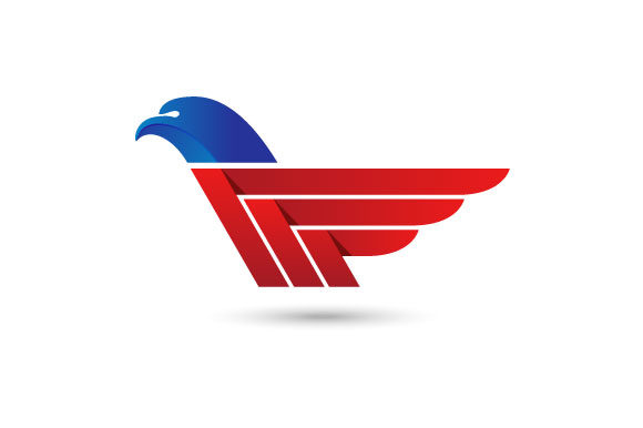 Download Free Eagle Wings Vector Logo Graphic By Hartgraphic Creative Fabrica for Cricut Explore, Silhouette and other cutting machines.