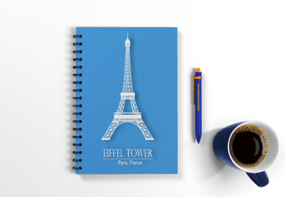 Download Free Eiffel Tower Paris Wall Art Graphic By Adamcarl 9010 Creative for Cricut Explore, Silhouette and other cutting machines.
