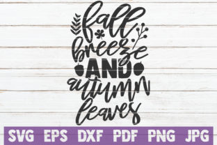Download Free Fall Breeze And Autumn Leaves Grafico Por Mintymarshmallows for Cricut Explore, Silhouette and other cutting machines.