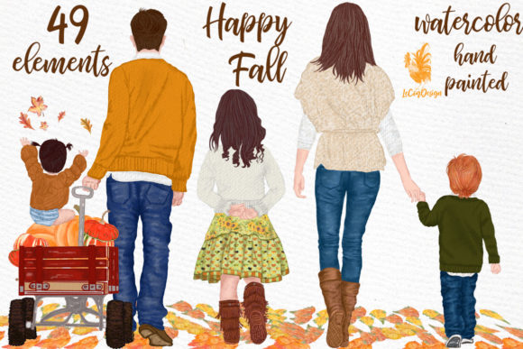 Fall Clipart Graphic Illustrations By LeCoqDesign
