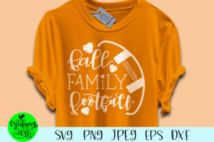 Download Free Fall Family Football Graphic By Midmagart Creative Fabrica for Cricut Explore, Silhouette and other cutting machines.
