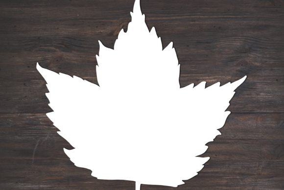 Fall Maple Leaf Graphic By Fortuna Prints