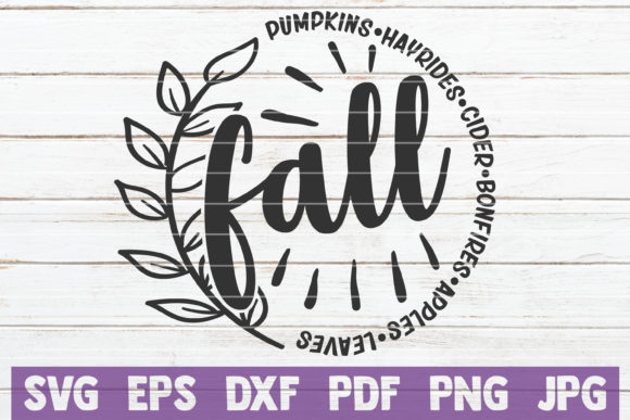 Fall SVG Bundle Graphic By MintyMarshmallows Image 2