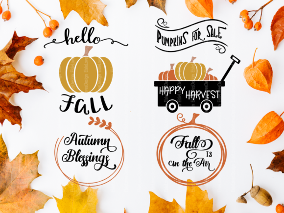 Fall Thanksgiving Graphic By ElsieLovesDesign Image 2