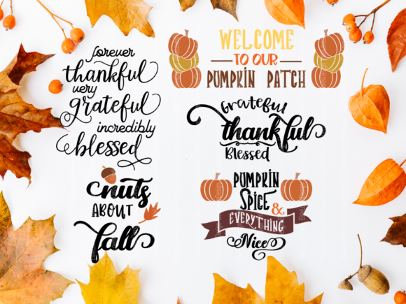 Fall Thanksgiving Graphic By ElsieLovesDesign Image 3