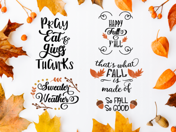 Fall Thanksgiving Graphic By ElsieLovesDesign Image 4