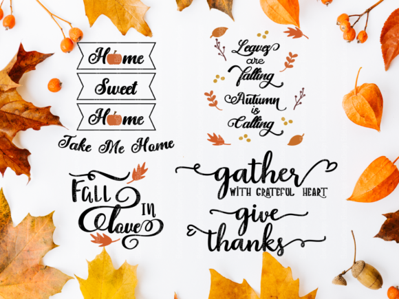 Fall Thanksgiving Graphic By ElsieLovesDesign Image 5