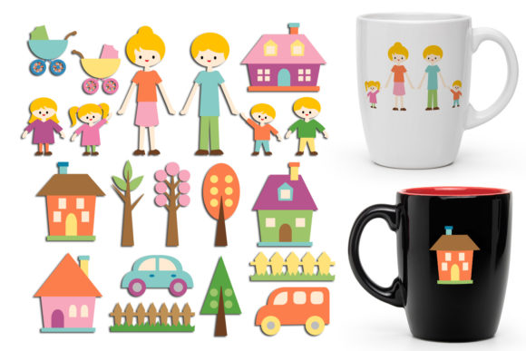 Print on Demand: Family Graphic Illustrations By Revidevi