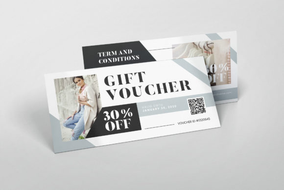 Download Free Fashion Boutique Ai And Psd Gift Voucher Graphic By Alexacrib83 for Cricut Explore, Silhouette and other cutting machines.