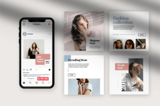 Fashion Instagram Templates Graphic By qohhaarqhaz
