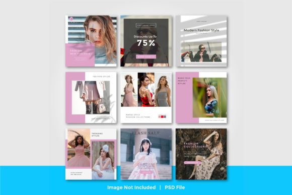 Fashion Store Social Media Post Template Graphic Graphic Templates By suedanstock