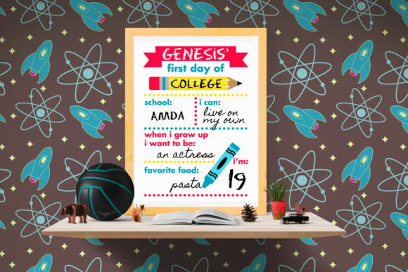 Download Free First Day Of School Poster Pdf Png Svg Graphic By Risarocksit for Cricut Explore, Silhouette and other cutting machines.