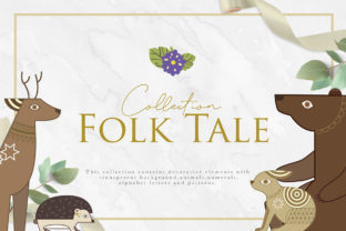 Folk Tale Collection Graphic By NassyArt