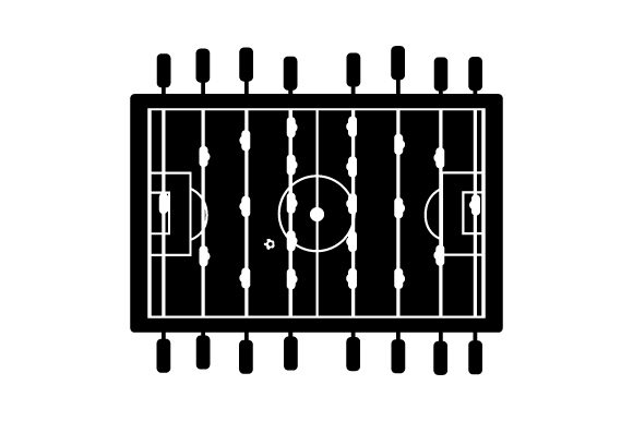 Foosball Table Games Craft Cut File By Creative Fabrica Crafts - Image 2