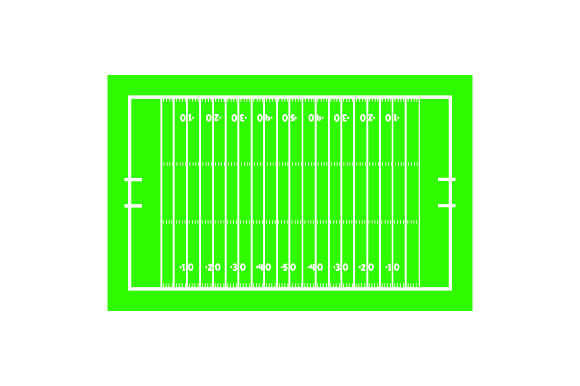 Download Free Football Field Svg Cut File By Creative Fabrica Crafts for Cricut Explore, Silhouette and other cutting machines.