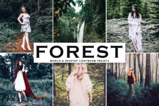 Forest Pro Lightroom Presets Graphic By Creative Tacos